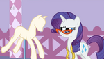 Rarity cool smile S1E14
