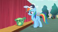 S02E07 Rainbow Dash mówi do Tanka