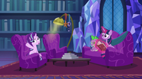 Starlight --she decides to cast a spell to get rid of it altogether-- S06E08