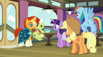 Sunburst signing up for Trivia Trot S9E16