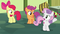 Sweetie Belle -you are so careless!- S8E12