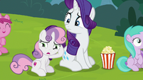 Sweetie Belle prefers black box experimental theater S7E6