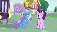 Trixie --isn't she always strange--- S6E25