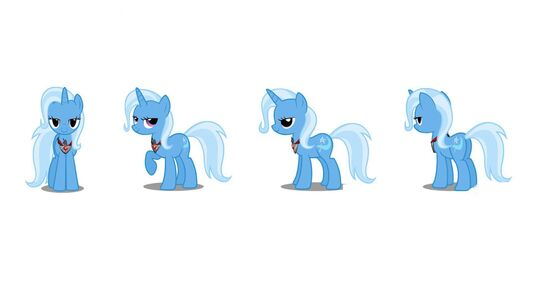 Trixie with Alicorn Amulet turnaround