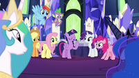 "Twilight ""we'll cover your palace duties"" S9E13"
