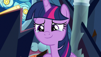 Twilight Sparkle moved to tears S9E2