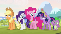 Twilight and her friends hesitant S03E10