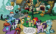 Backround pony crop comic issue 1