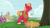 Big Mac holding a bucket of paint S9E23