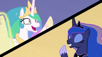 Celestia wants adventure; Luna wants relaxation S9E13