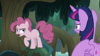 "Fake Pinkie ""boring, lame, no-fun retreat"" S8E13"