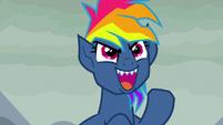 """Fantasy Rainbow Dash """"forever!"""" S7E23"""