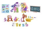 Fluttershy & Starlight Glimmer Pet Care Class set