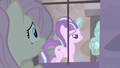 Fluttershy sees Starlight levitating container holding the cutie marks S5E02.png