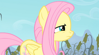 Fluttershy sniffing S4E07
