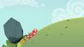 Giant boulder drags Big Mac downhill S6E15.png