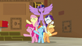 Mane Six finish singing Best Friends Until the End of Time S7E2.png