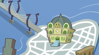 Manehattan depicted in a map S6E3
