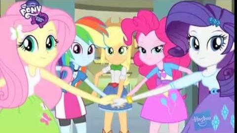 Muñecas My Little Pony Equestria Girls - América Latina - Primer anuncio