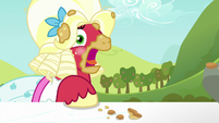 Orchard Blossom belches again S5E17