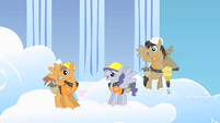 Pegasus construction workers see Rarity S1E16