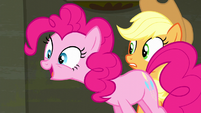Pinkie Pie --I can go upstairs-- S6E9