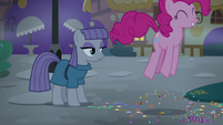 Pinkie Pie excited to hang out with Maud S8E3