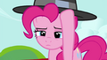 Pinkie Pie putting her hat on S4E21.png