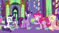 Pinkie shocked by Twilight's apology MLPBGE