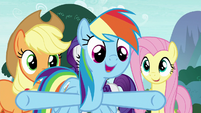 "Rainbow ""what are we waiting around here for?!"" S8E18"
