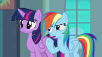 "Rainbow Dash ""he can't get enough air"" S6E24"