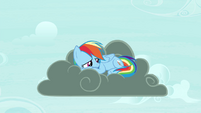 Rainbow on thundercloud S4E21