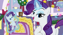 "Rarity ""well, as I was saying"" BGES3"