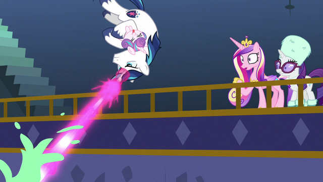 File:Shining Armor flips and blasts pudding MLPBGE.png