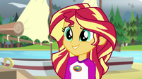 Sunset Shimmer surprised by Flash's words EG4