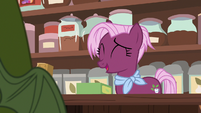 "Tea salespony ""it just tastes good"" S7E12"