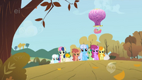 The ponies are nearing the final stretch S1E13