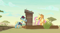 "Ticket Taker Pony ""the end of the line"" S8E23"