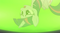 Twilight's reflection in Zecora's cauldron S5E22