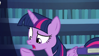"Twilight ""can't just make a mane with magic"" S7E19"