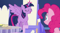Twilight makes Pinkie an official ambassador S7E11