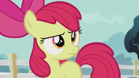 Apple Bloom hears Diamond Tiara S5E18