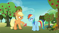 "Applejack ""skedaddle so I can help them"" S8E5"