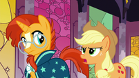 Applejack -all those legendary ponies were real- S7E25