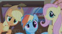 Applejack Rainbow Fluttershy S01E09