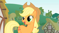 Applejack talks to Twilight S1E15