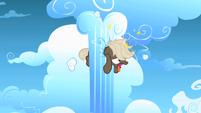 Bully crashes into cloud pillar S1E23