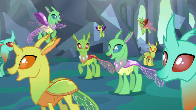 Image Changelings Happy With Their New Forms S6e26 Png