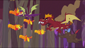 Dragons chasing baby phoenixes S2E21.png