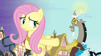 Fluttershy and -angel- Discord S4E01